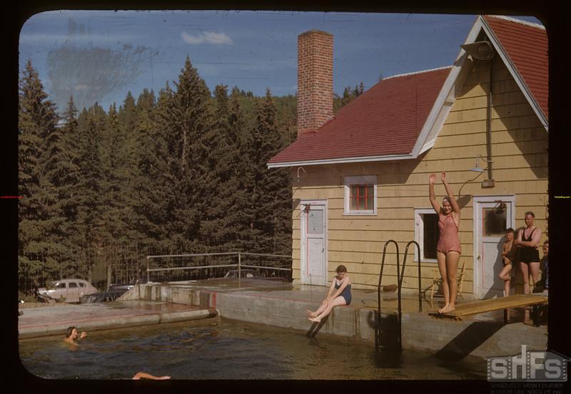 CGIT - at Cypress Hills swimming pool Cypress Hills 08/01/1955