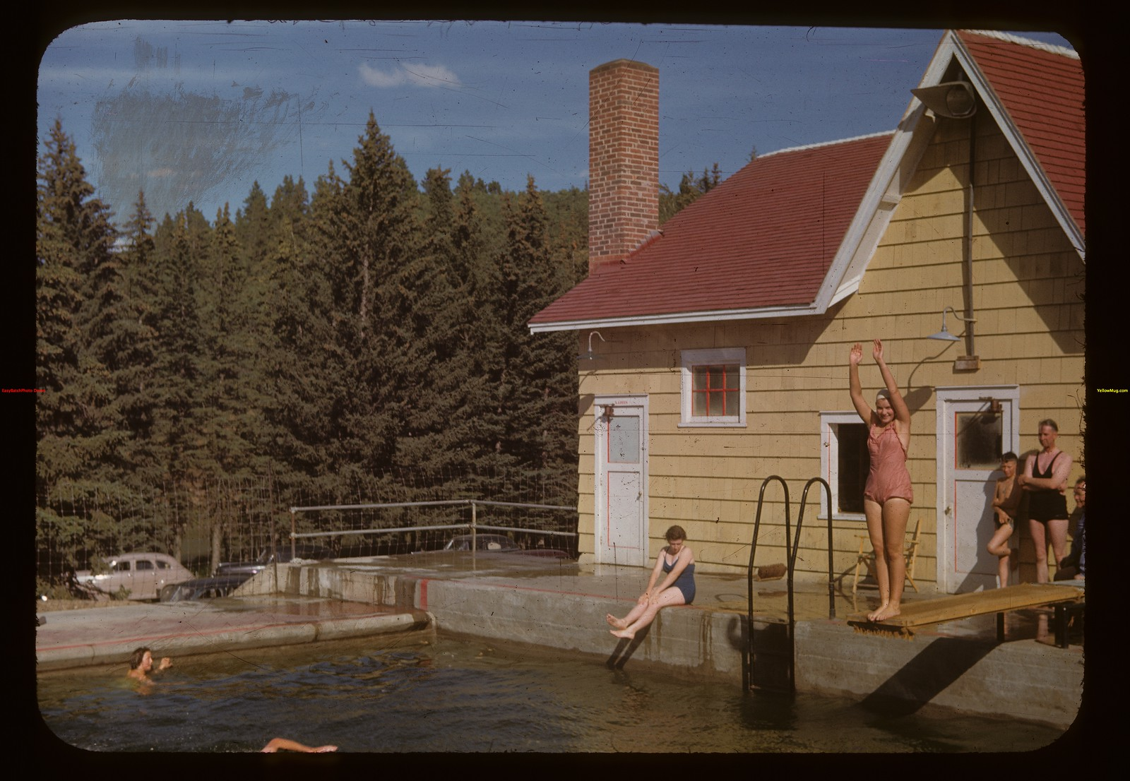 CGIT - at Cypress Hills swimming pool	 Cypress Hills	 08/01/1955