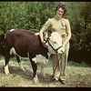Vera Gregory and her Grand Champion.	 Eastend	 06/01/1949