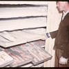 Freezing trays of fillets.	 Beaver Lake.	 06/21/1946