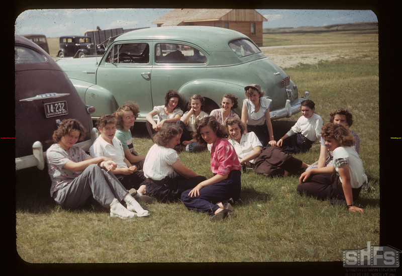 Co-op school girls	 Knollys	 07/06/1949