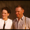 Mr & Mrs Bert Riddell pool agent - Davis at PA co-op school..  Prince Albert.  07/09/1947