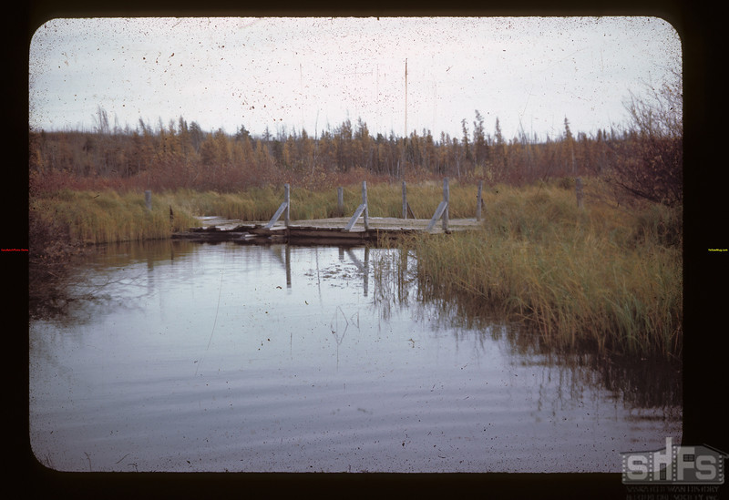 Corduray Bridge S. W. Upper Makwa Looking S.	 Loon Lake	 10/10/1944