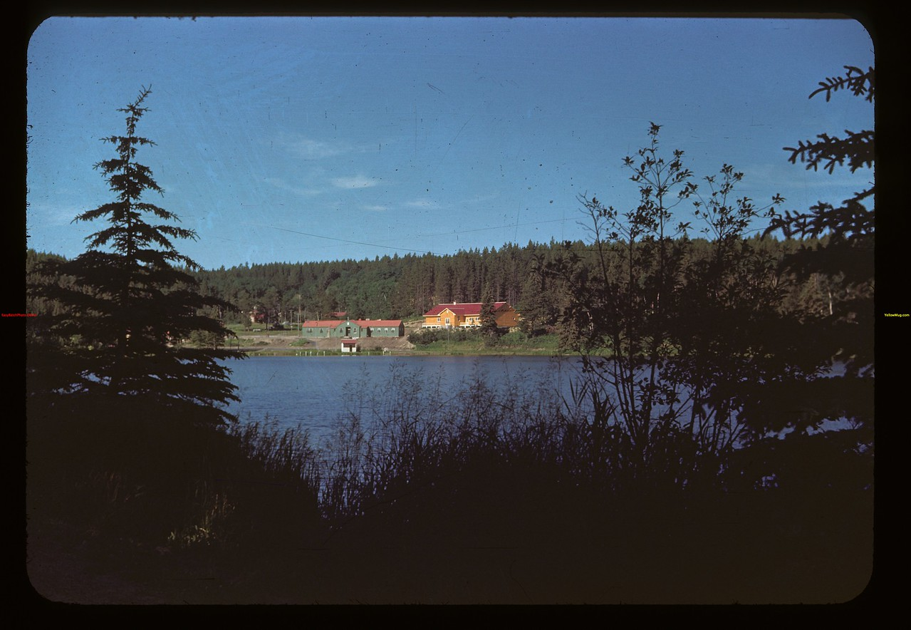 Looking across Cypress Lake Cypress Hills 07/04/1948