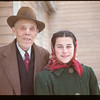 Arthur Leach - Post Master & Grand-Daughter	 South Fork	 01/09/1948