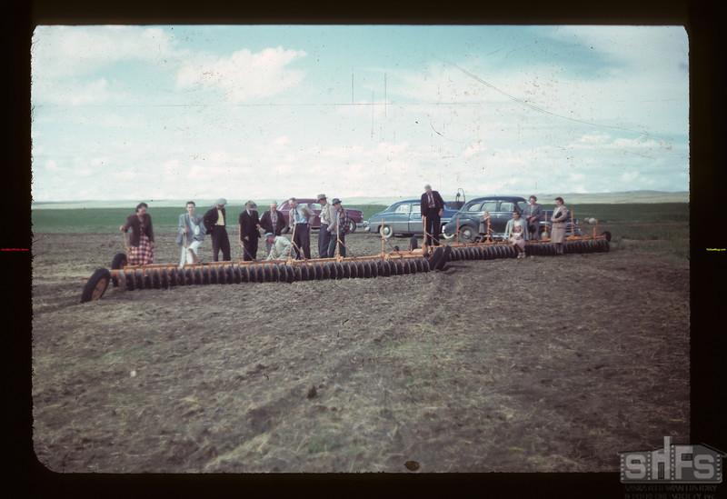 Dist. 3 study tour views enormus C.C.I.L. Disker Matador 07/27/1949