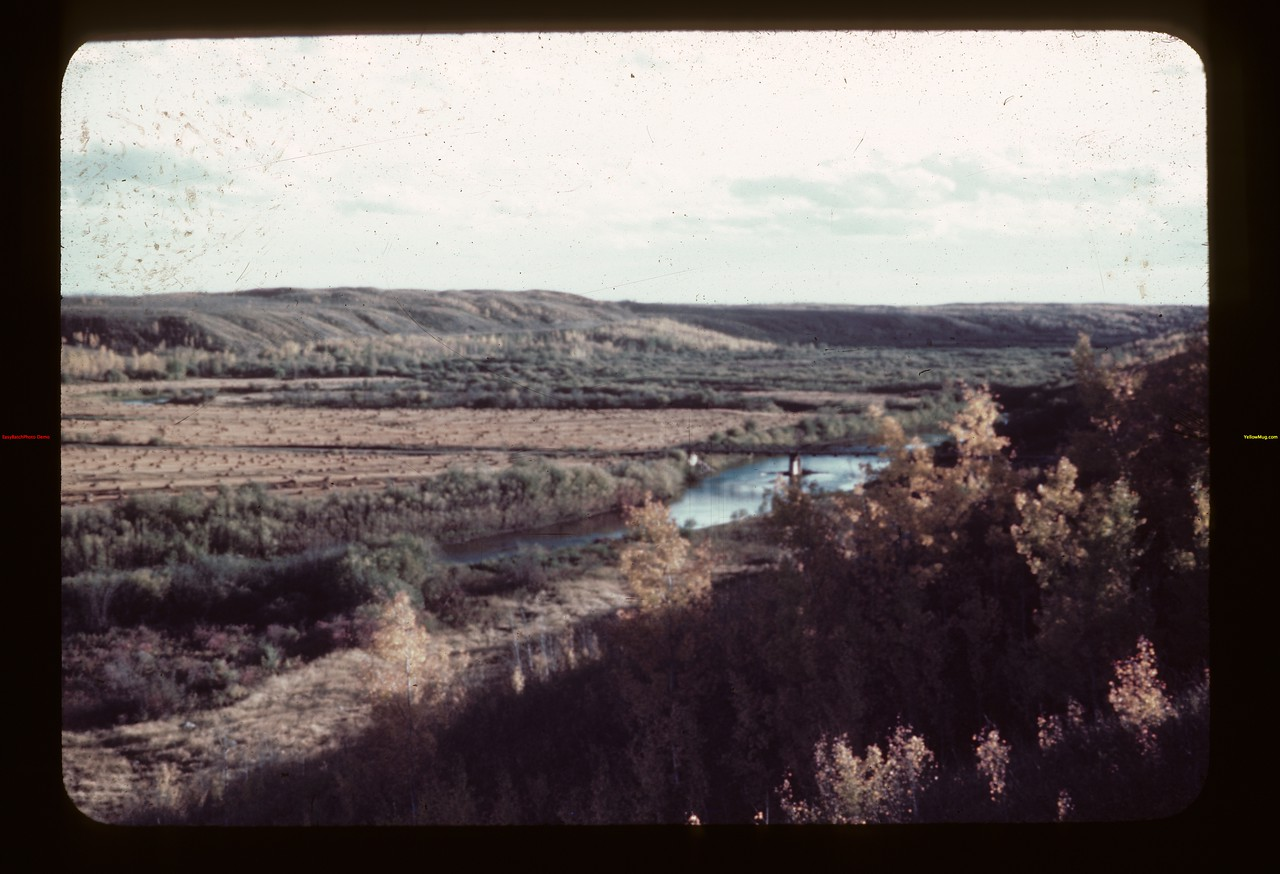 Beaver River looking south towards Seeley's Crossing	 Flat Valley	 09/23/1944