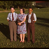 Peter and Mary Kyba - Arran; and Alex Gilliland at PA Co-op school.  Prince Albert.  07/12/1946