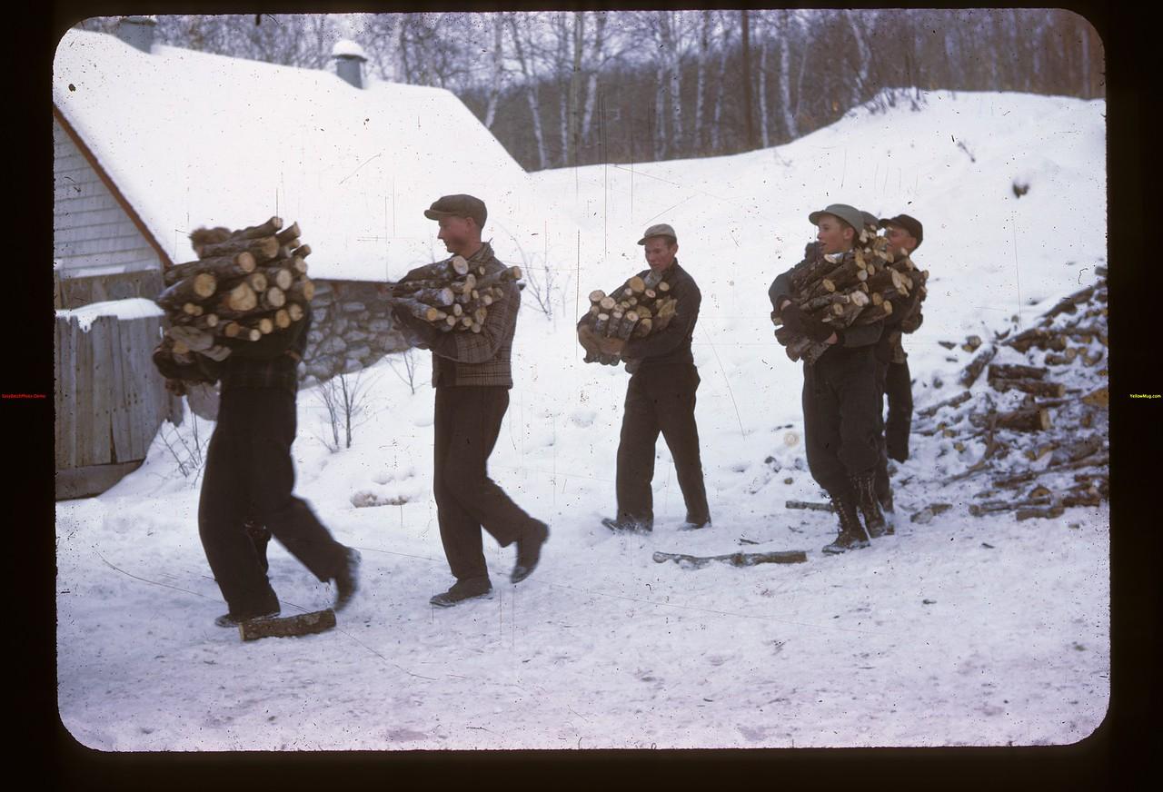 The Wood Carriers. Y-T-S. Kenosse Lake 11/27/1946