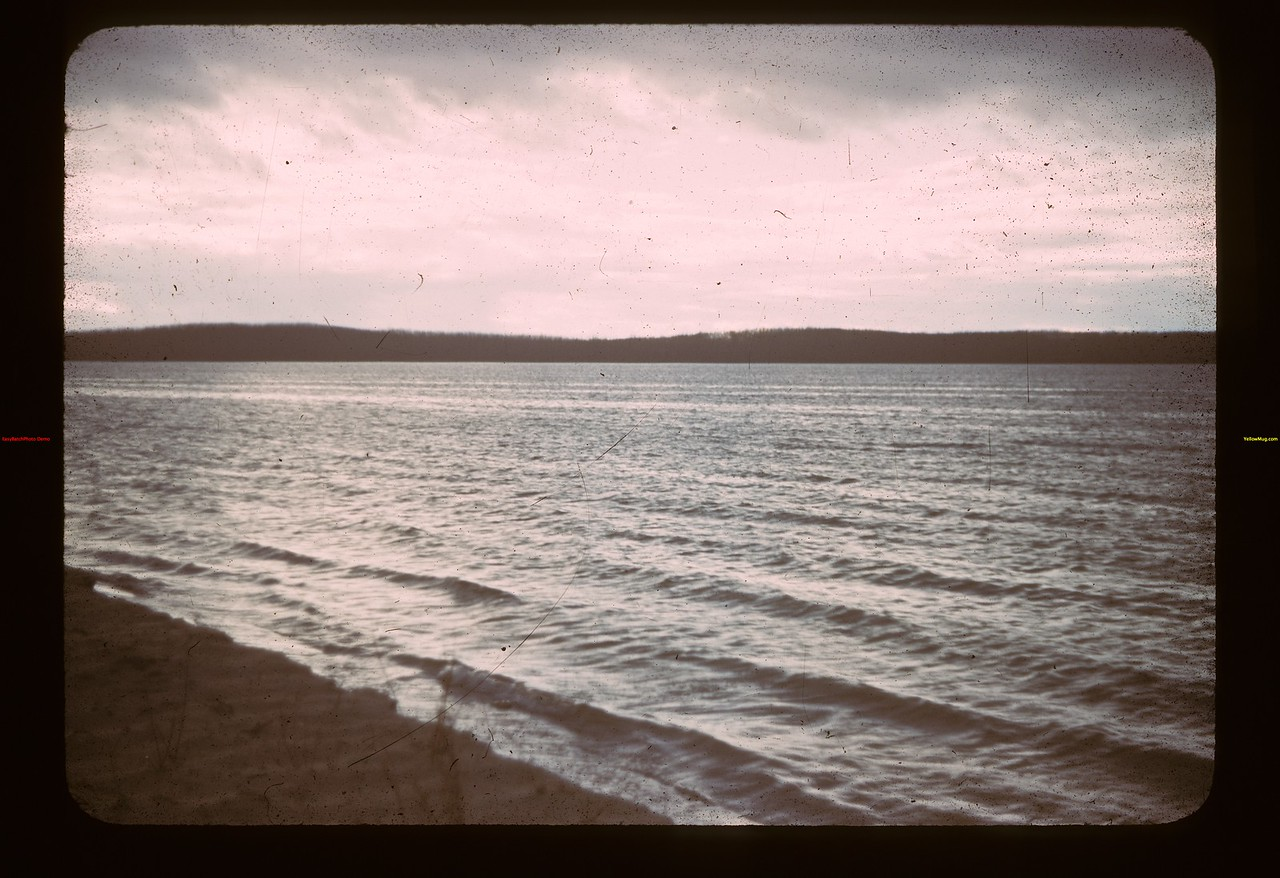 Loon Lake off East Sand-bar Loon Lake 10/21/1942
