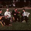 The Hagen Orchestra - PA co-op school broadcast. Clifford Folstad - guitar; Clyde Clidence - banjo; Arnold Olson - violin; Elmer Opseth - accordian..  Prince Albert.  07/12/1946