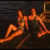 Jean Dewitt and Jean McKinnon - Regina Boat Club.  Regina.  07/14/1947