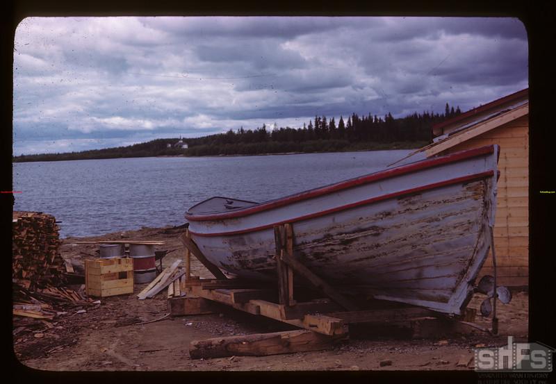 Boat at Gou't Fish Filleting Plan La Ronge 06/21/1946