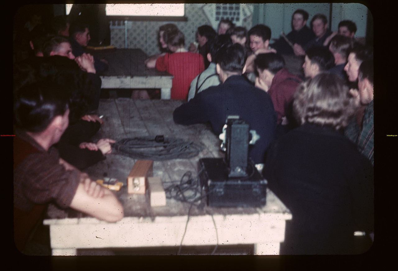 "Co-op ""Annual"" Meeting Youth Training School Kenosse Lake 11/25/1946"