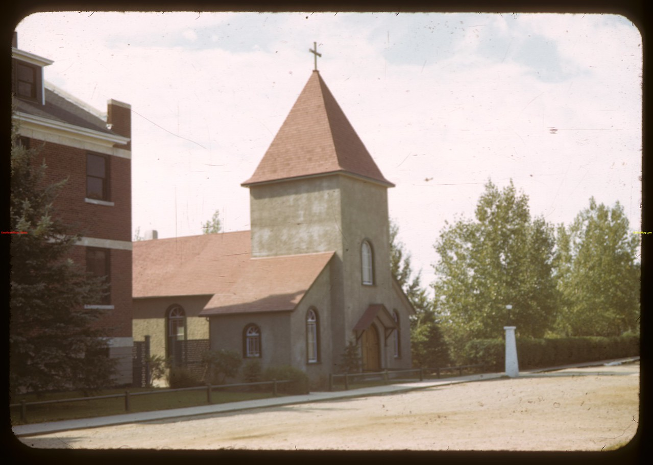 NWMP - Last of original barracks.  Regina.  08/20/1943