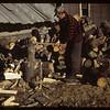 Wood splitter - co-op farm veteran. Carrot River. 07/18/1949