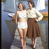 Mother and daughter - Mrs. W. Slaughter and Betty Slaughter at Regina Regatta. Regina 09/02/1946