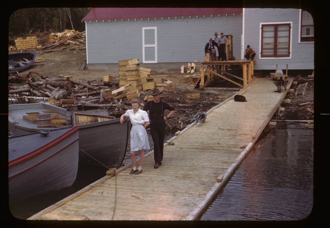 """Happy Landing"" - government fish filleting plant.	 Beaver Lake	 06/21/1946"