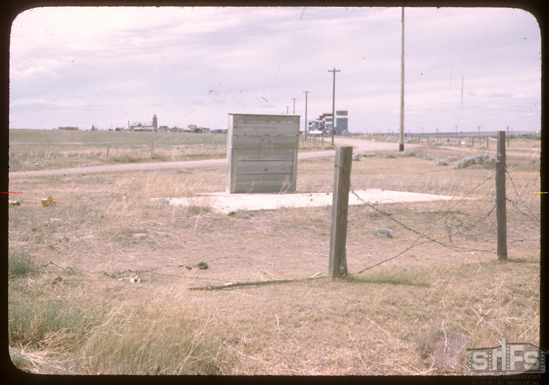 Weigh scale just east of Ponteix..  Ponteix.  06/05/1946