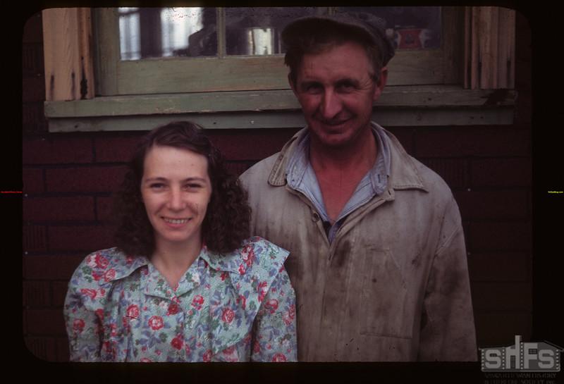 Mr. and Mrs. Ernie Monson. Matador C. F. Matador 07/27/1949
