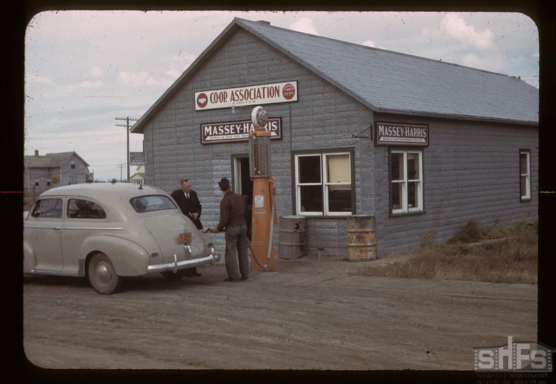 Co-op oil business. Avonlea. 10/03/1942