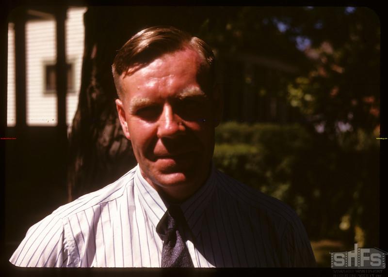 Deputy Minister of Co-operarives - B.N. Arnason.  Regina.  07/28/1947