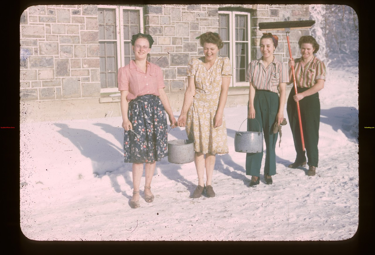 The Dignity of labor. Y-T-S. Kenosse Lake 11/18/1945