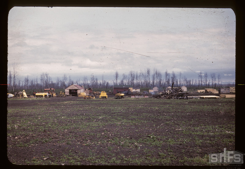 Carrot River co-op farm and Settlement. Carrot River 08/21/1947