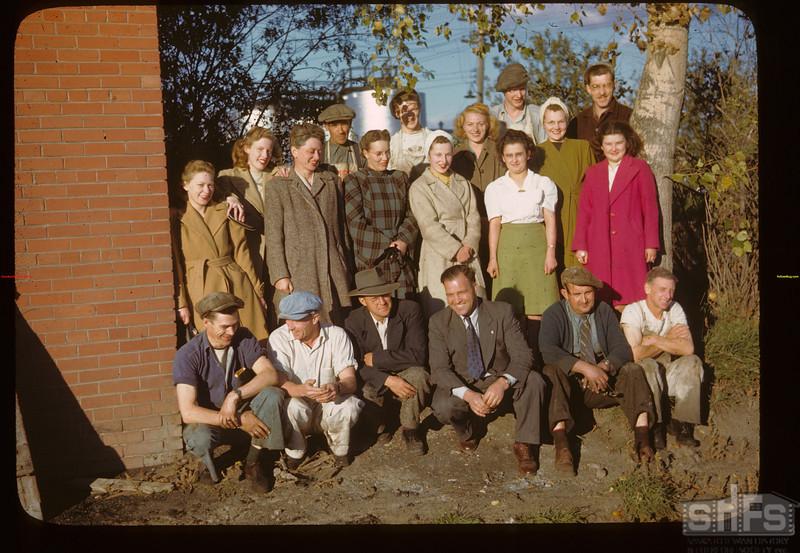Sask. Co-op creameries staff Melfort 09/28/1946