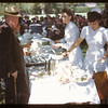 Department of Cooperatives serves lunch to US Co-op tour.  Regina.  08/10/1946