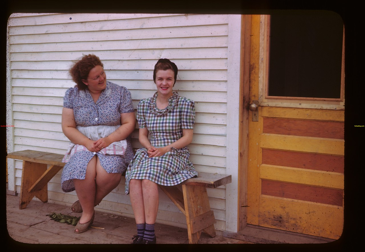 Mrs. Thompson - Canteen & Mrs. C. A. Buckley cook La Ronge 06/21/1946