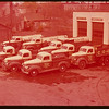 Sherwood Co-op truck fleet; 3 oil trucks - 3 coal trucks and 3 general delivery trucks.  Regina.  10/09/1947