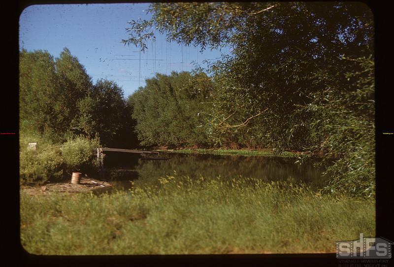 "Kincaid dam ""No swimming allowed"" Kincaid 07/21/1948"