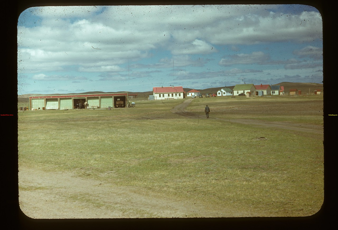 Matador Co-op Farm: garage - dormitory & houses Matador 05/15/1948