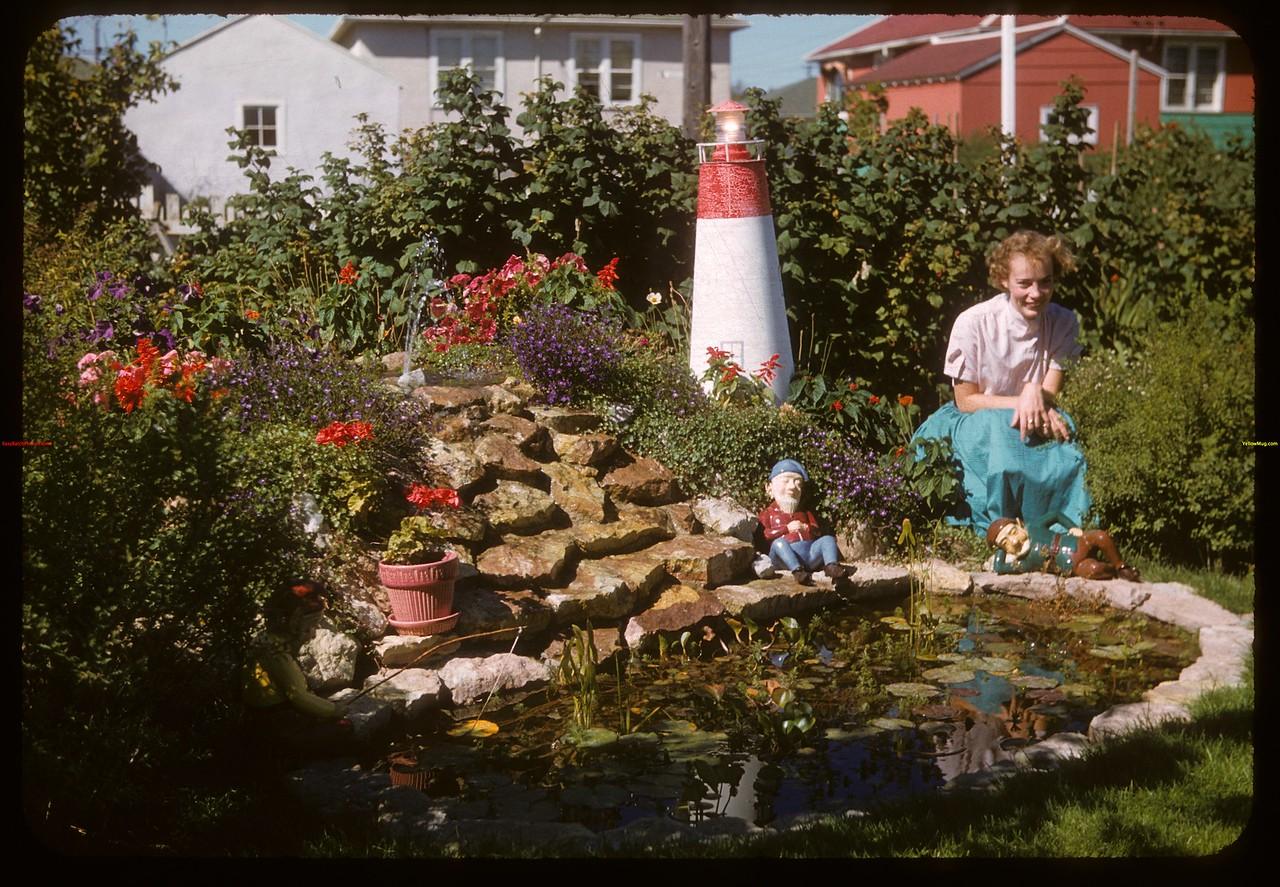 Sandra Medhurst No 1 garden - 3116 Garnet Street.  Regina.  09/02/1946