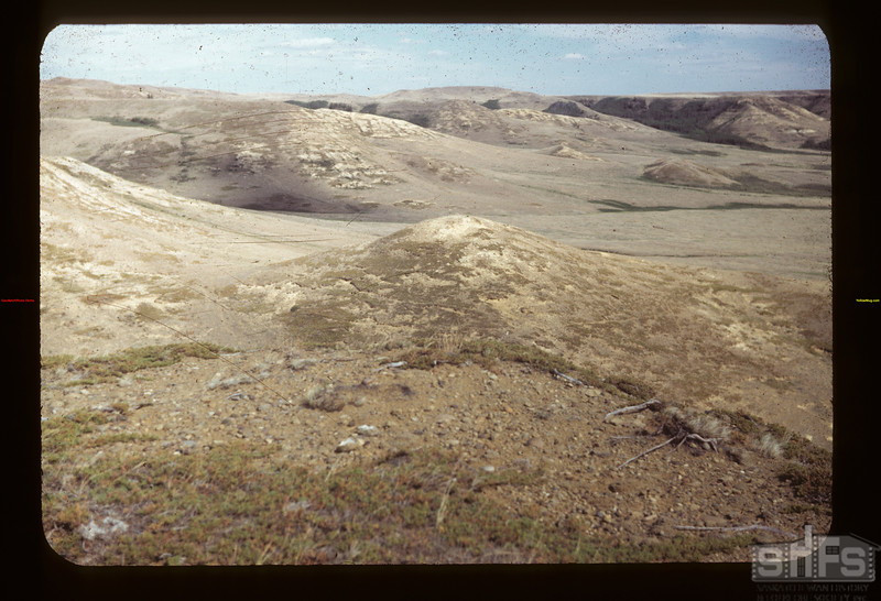 View from Hill East of Bill White's Eastend 06/12/1949