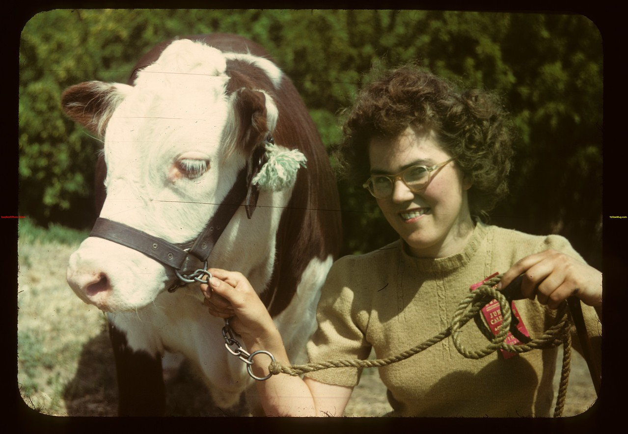 Vera Gregory & Grand Champion	 Eastend	 06/01/1949
