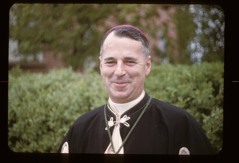 Bishop M. J. Lemieux OP - picture taken at Wakaw. 06/08/1947