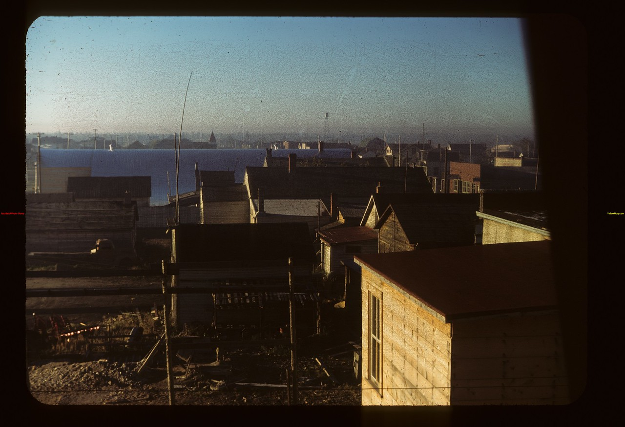 Looking south from rear of hotel	 Hudson Bay	 09/22/1949