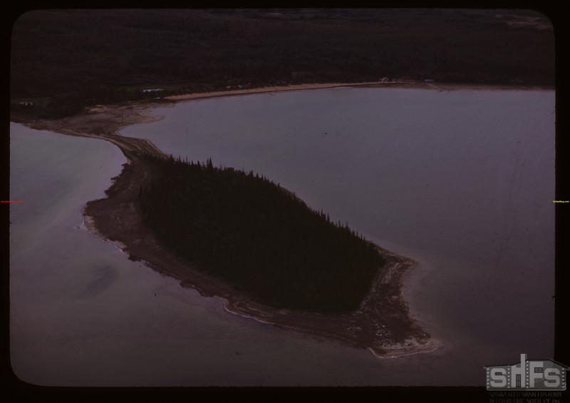Aerial view of Emma Lake.  Emma Lake.  06/22/1946