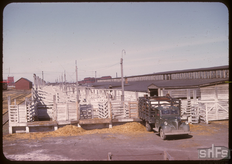 No mudhole here - Co-op stock yards.	 Moose Jaw	 04/28/1947