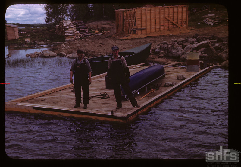 Landing at Fish Filleting Plan	 La Ronge	 06/21/1946