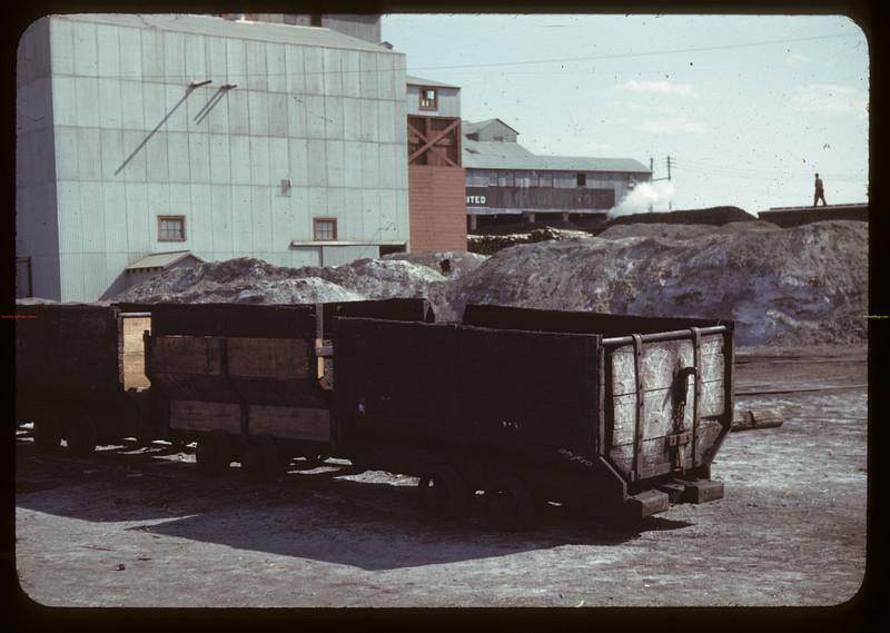 Underground coal cars from deep seam M7S mines. Taylorton. 09/10/1942