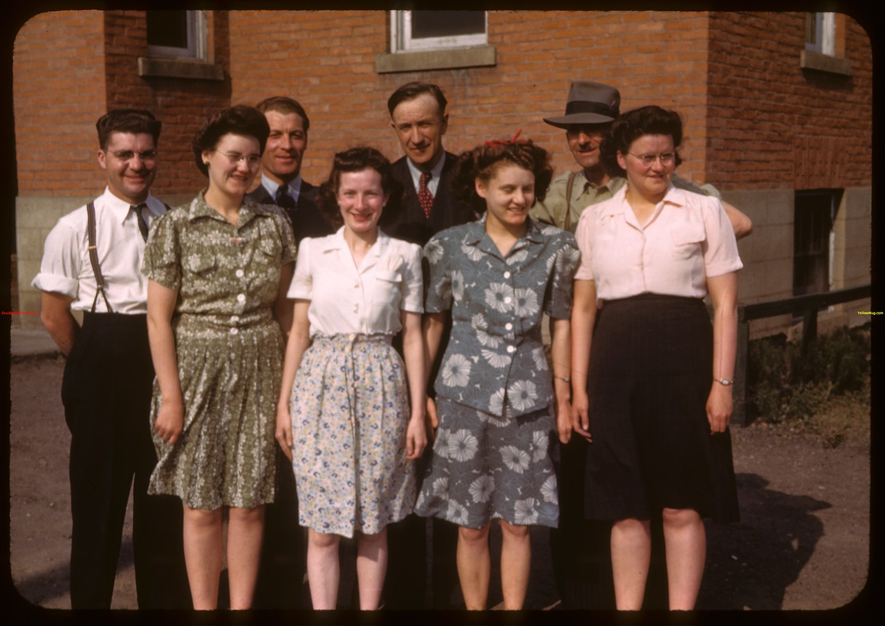 L.S. Pool office staff.  Prince Albert.  05/30/1944