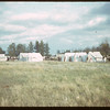 Indians camping during North Battleford fair..  North Battleford.  08/10/1942
