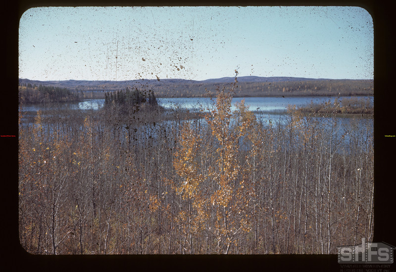Lake Streches South of Saskatoon Road	 Loon Lake	 10/07/1944