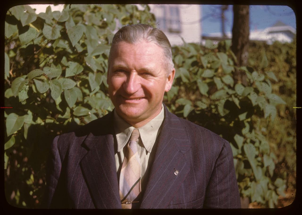 Axel Peterson - organizer Livestock Pool..  North Battleford.  10/07/1946