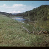 Assiniboine River south of Burney Bridge NE of MacNutt - Johnny Burney 1879 Pyott Bridge now	 MacNutt	 09/02/1949