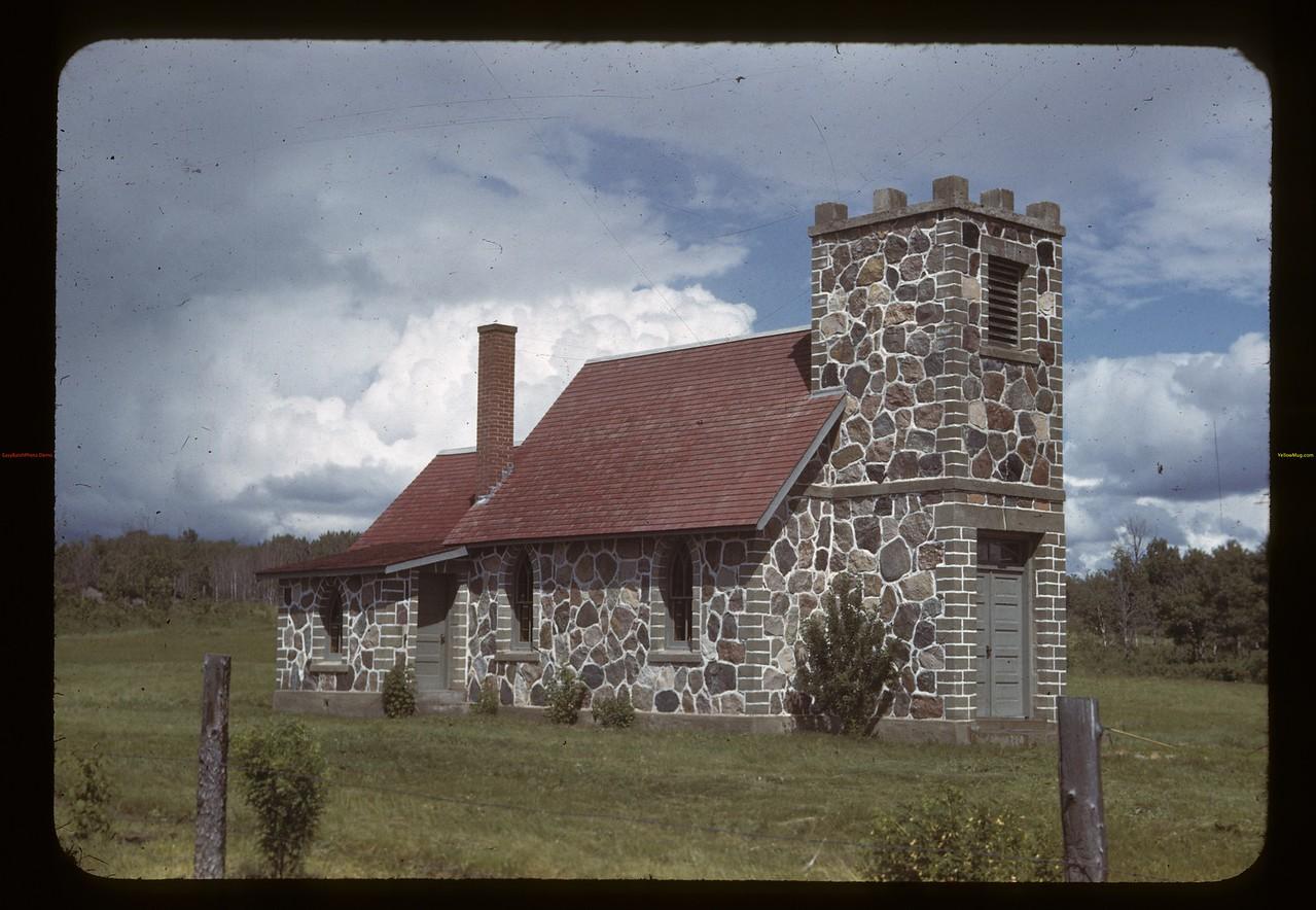 Little stone church. Deer Creek. 06/26/1943
