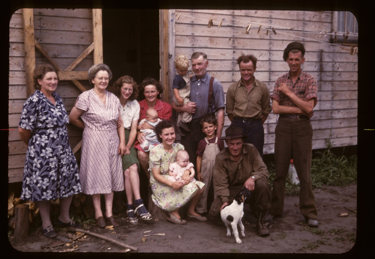 Members and staff - Carrot River co-op farm. Carrot River 08/21/1947